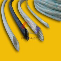 Silicone /PVC thin-wall fiberglass sleeving for wiring