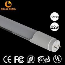 high cost performance 1500mm 100lm/w ra80 22w t8 ul led tube
