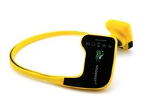 Hot Medical and Sports Area Use Bone Conduction Bluetooth Headset Mp3 Player Bluetooth IPX68 10m Waterproof and 8GB Memory