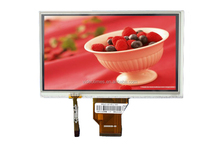 Best price digital 7 inch tft display lcd 800 x 480 dots