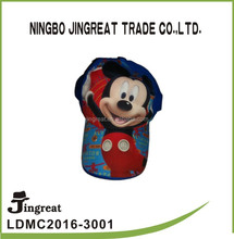 cute mickey cartoon children's cotton baseball hat