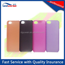 Plastic injection molding for new cell phone cover