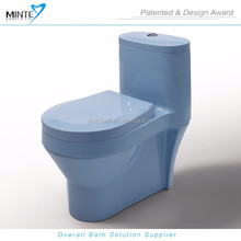 unique toilet design color acrylic toilet, new material toilet hot sale in Mideast regions
