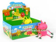 2012 newest novelty frog with flash light toys