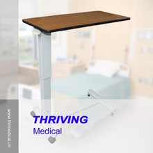 THR-OBT06F Hospital Adjustable Over Bed Table for Patient