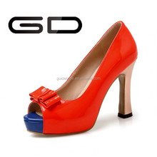 GD Woman sexy high heel open toe dress shoes pumps for party office ladies
