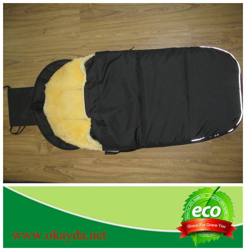 High Quality Sheep Fur Sleeping Bag For Baby