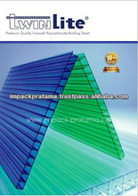 UV Protection Multiwall Plastic PC Polycarbonate Greenhouse Sheets