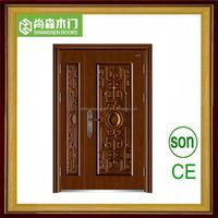 China manufacture exterior soundproo kerala steel door