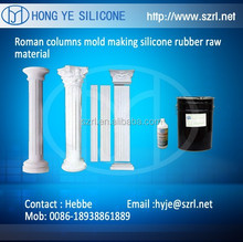 plaster products making with liquid mold silicon