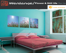 High Quality Home Decoration Item simple flower canvas painting