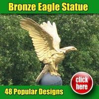 2015 alibaba hot sale bronze eagle sculpture for sale