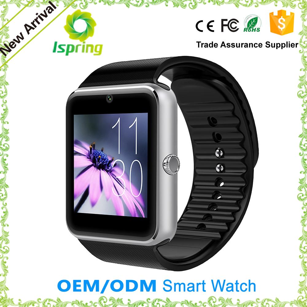 Gv08 montre smart watch, Aw08 smartwatch, Gt08 carte sim montre smart watch or