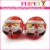 adorable Santa Claus dog chew toy squeaky Christmas dog toy