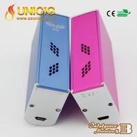 2015 latest and hottest Indulgence 60W box Mutation x B temperature control mod smoking device