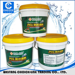 Non solidify rubber bitumen waterproof roofing coating