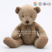 ICTI Audit factory teddy bear toy wearing sweater