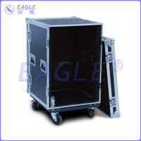 Customized 16U flight case and flight case parts with high quality