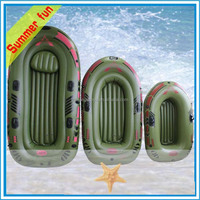 Wholesale Plastic paddles Inflatable three person boat