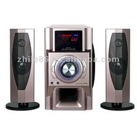 2.1ch digital home theater speaker system with karaoke