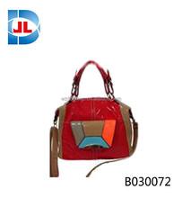 High quality cheap fashion ladies pu handbag 2 ways