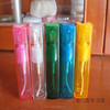 Plastic lid and plastic atomiser spray 10ml /High Quality Frosted Glass bottles