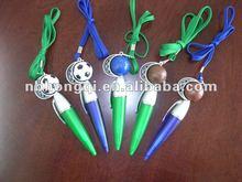 Promotional Plastic Ball Pen Lanyard Sports Pen