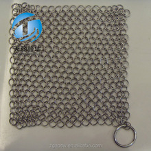 Welded round ring net