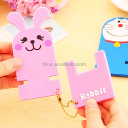 cartoon silicone phone holder desktop cute mobile phone holder