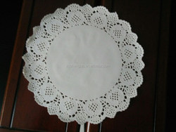 Original And New Designed Lace Flowers Paper Doilies for Wedding