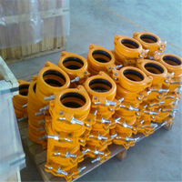 Concrete Pump cast iron pipe clamp,rubber hose clamp