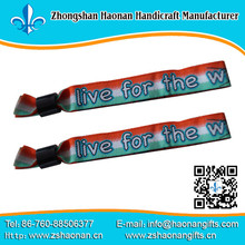 Wholesale eco souvenirs Sports Bracelet Cheap woven Wristbands, High Quality Cheap fabric Wristbands,Mens Sports Wristbands
