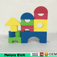 Melors interesting EVA foam building block educational building block/kids soft foam play bricks