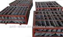 Ni-hard Shell Liner Parts for Mine Mill