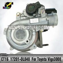Toyota 1KD-FTV Engine CT16 17201-0L040/17201-30110 turbo for Toyota Hilux 3.0LD ViGO 3000 Diesel turbocharger