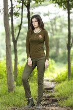 China women long sleeve t shirt manufacturers