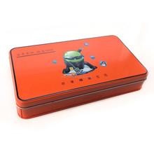 ruler tin box / tin can / tin container