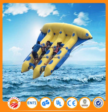 Extreme Surfing Toys Inflatable Banana Ship/Boat for Funny Water Games