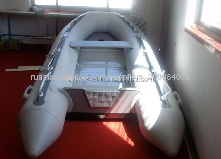 inflatable boat/aluminum floor boat LY-330