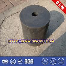 Black nitrile rubber block used for car jacks