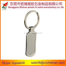 Laser blank metal keychain custom shape metal keychain for sale