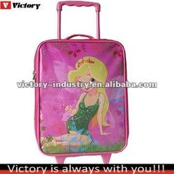 Pink cheap kids luggage
