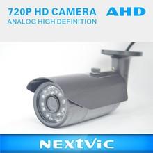 AHD 720P CCTV Waterproof Camera/ IR Bullet Camera/ 20 PCS IR LED/ 3-Axis Bracket Video Surveillance/ Security/ Monitoring/