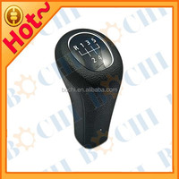 5 Speed Plastic Gear Shift Knob for BMW with White Circle