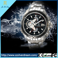 New Style best selling 316L Stainless Steel luminous Chronograph Watches for Men