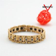 Mingfu fashion man bracelet 18k gold jewelry wholesale