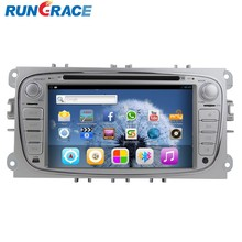 ford focus android 4.2.2 car dvd player with reversing camera