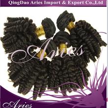 Grade 5A Funmi Human Hair Peruvian Hair Weaving Black Color Hair Bundle Double Drawn Peruvian Fumi Hai