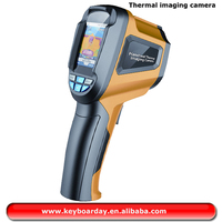 LCD yellow Handheld thermal Imaging camera used for Medical,Archaeological,Transport,Agriculture,etc.