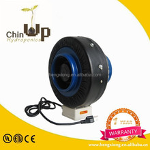 Hydroponics ventilation system inline ceiling fan/6 inch inline duct fan air cooler fan parts/inline fan
